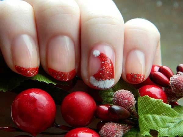15 mẫu nail Giáng sinh ngọt ngào, tuyệt đẹp cho bạn gái 15