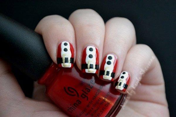 15 mẫu nail Giáng sinh ngọt ngào, tuyệt đẹp cho bạn gái 8