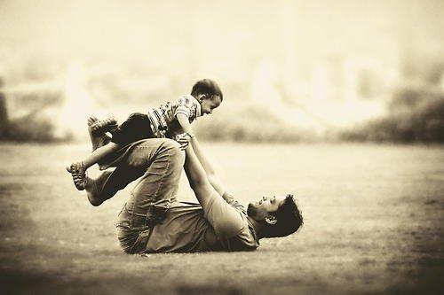Image result for bố và con trai