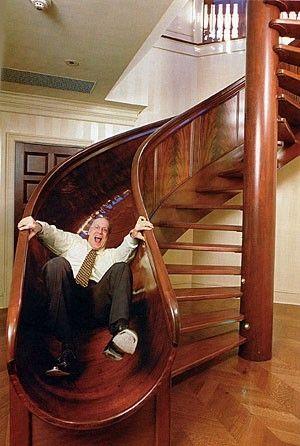 Escalier originale
