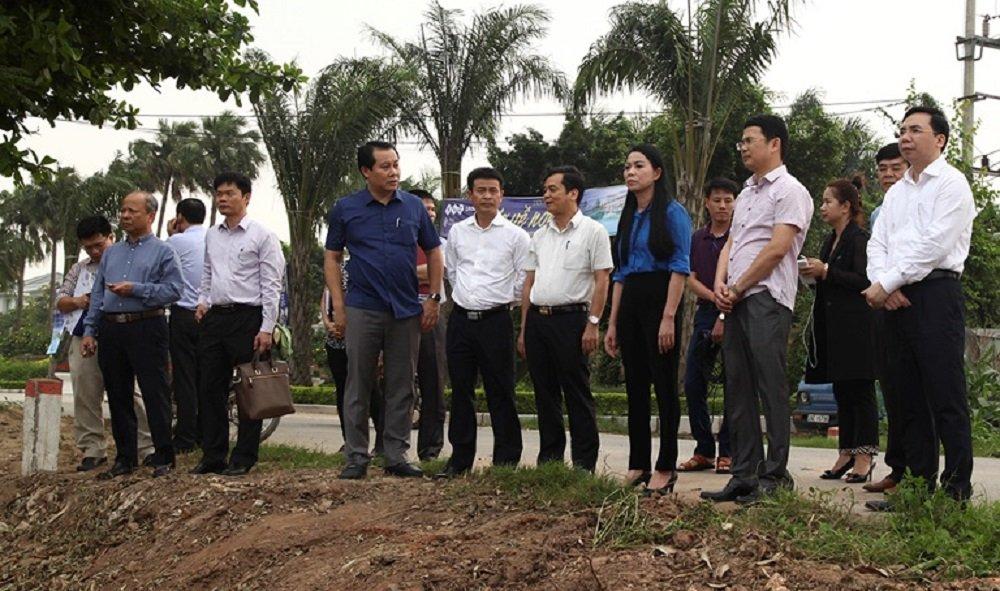 Bi thu Tinh uy Vinh Phuc kiem tra du an va lam viec voi Tap doan FLC hinh anh 1