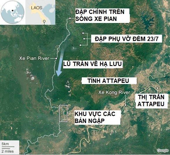 Gan 1.000 quan nhan Viet Nam giup Lao khac phuc su co vo dap thuy dien hinh anh 2