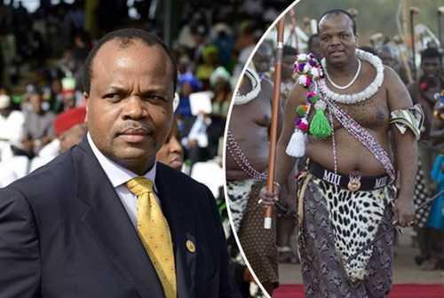 Choang voi thu an choi khong the tin noi cua vua Swaziland hinh anh 1