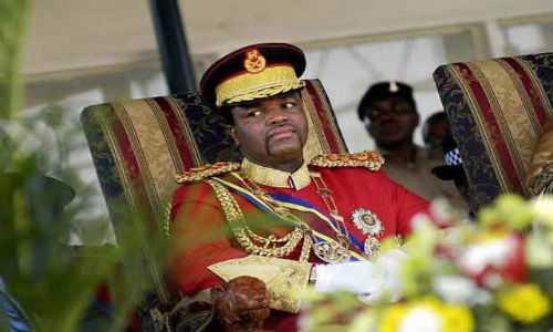 Choang voi thu an choi khong the tin noi cua vua Swaziland hinh anh 2