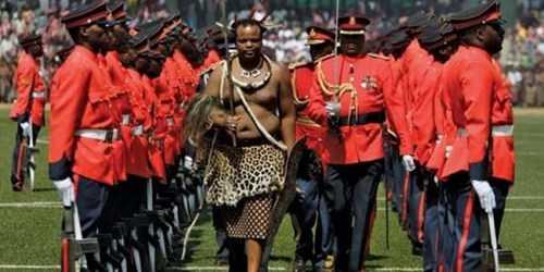 Choang voi thu an choi khong the tin noi cua vua Swaziland hinh anh 7
