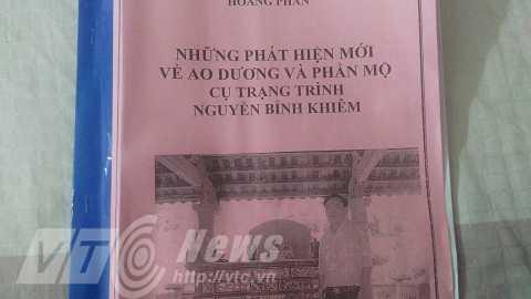 Vi sao 'nha ngoai cam' va cac nha khoa hoc khang dinh tim thay mo cu Nguyen Binh Khiem? hinh anh 7