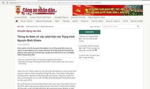 Su that vu tim mo cu Nguyen Binh Khiem bang ngoai cam: Cac chuyen gia len tieng hinh anh 1