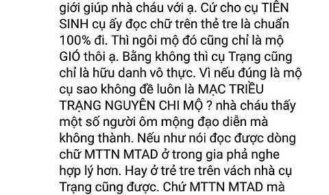 Vu tim mo Trang Trinh bang ngoai cam: Hoi thao khoa hoc hay 'hoi thao me tin'? hinh anh 5