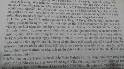 Vu tim mo Trang Trinh bang ngoai cam: Hoi thao khoa hoc hay 'hoi thao me tin'? hinh anh 2