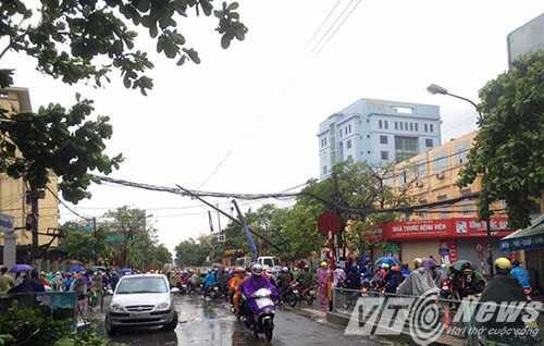 Anh: Thai Binh 'toi ta' sau khi bi bao so 1 quan thao hinh anh 11