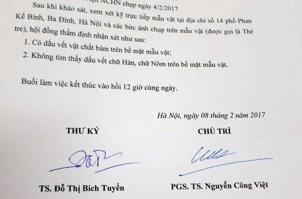 Su that vu tim thay mo Trang Trinh: Vien Nghien cuu Han Nom khang dinh the tre khong co chu hinh anh 3
