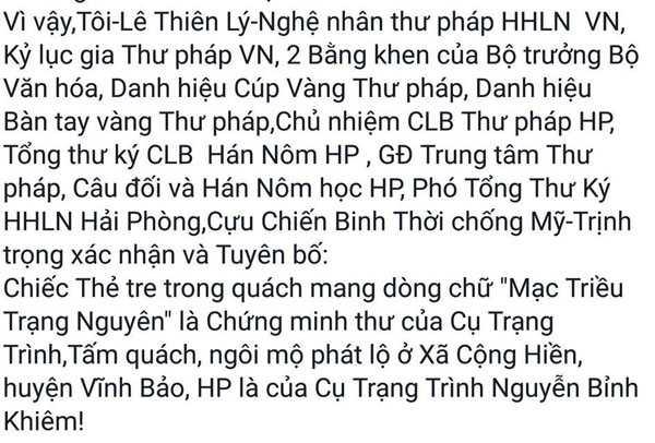 Su that chuyen tim thay mo Trang Trinh: Van con nhieu ke 'co dam an xoi' hinh anh 4