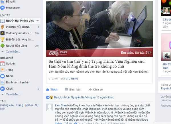 Su that chuyen tim thay mo Trang Trinh: Van con nhieu ke 'co dam an xoi' hinh anh 3