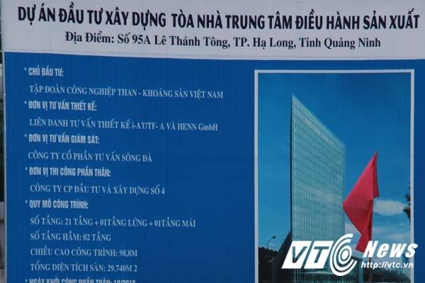 TKV no 100.000 ty dong: Can canh toa nha ngan ty cua TKV tai Quang Ninh hinh anh 1