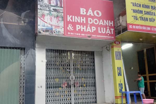 Khoi to vu an 3 phong vien bao Kinh doanh va Phap luat cuong doat tien o Hai Phong hinh anh 1