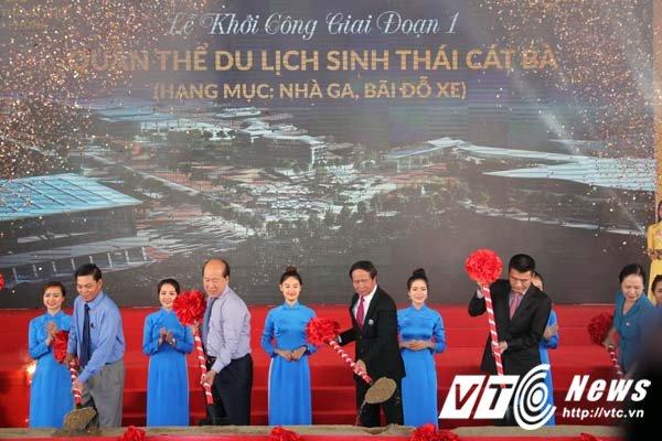 Khoi cong xay dung 'Khu du lich sinh thai va thong minh dau tien o Viet Nam' tai Cat Ba hinh anh 1