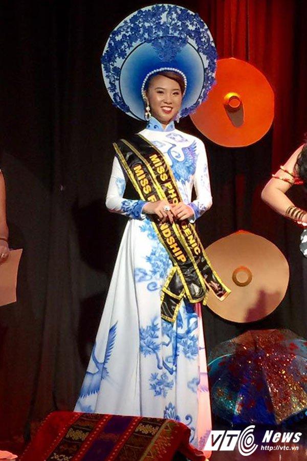 Nguoi dep Quang Ninh gianh giai Hoa hau Van hoa the gioi tai Philippines hinh anh 3