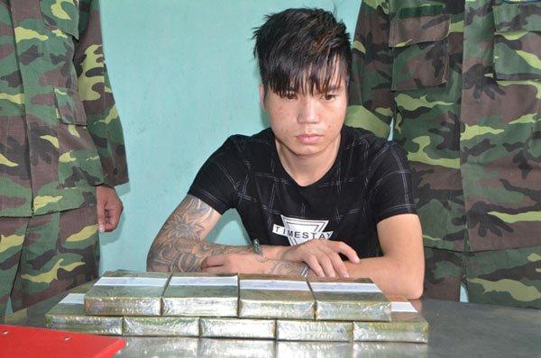 Mang 9 banh heroin nhay song, van sa luoi trinh sat bien phong Quang Ninh hinh anh 1
