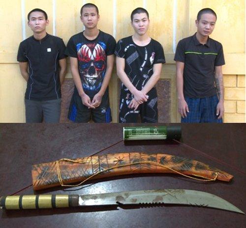Bat tam giam 5 thanh nien dung hung khi de doa, tan cong cong an xa o Thai Binh hinh anh 1