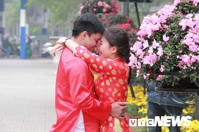 Pho phuong Hai Phong ruc ro don Tet Nguyen dan Mau Tuat hinh anh 12