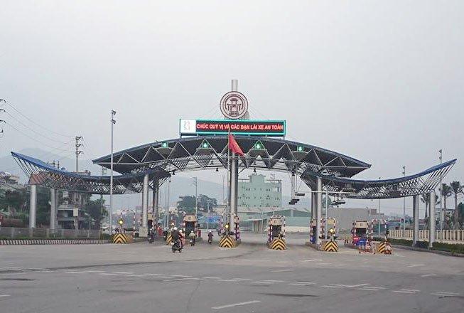 Hai tram BOT Ha Long – Mong Duong tren quoc lo 18 chinh thuc thu phi tu hom nay hinh anh 1