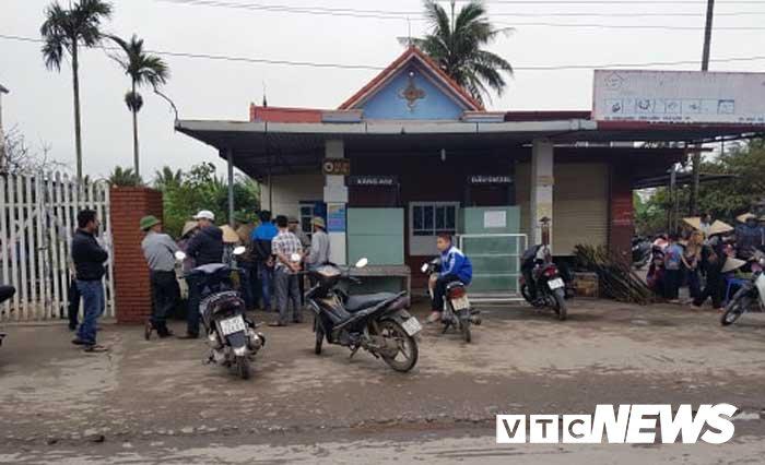 Cay xang cu phat no, 2 nguoi thuong vong o Hai Phong hinh anh 1