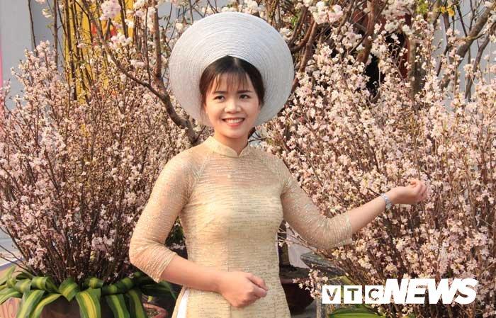 Anh: Chiem nguong hoa anh dao Nhat Ban, mai vang Yen Tu dua sac hinh anh 7