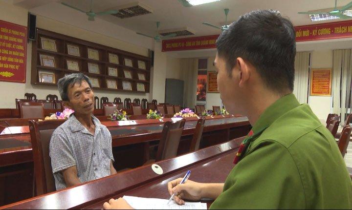 Loi khai ron nguoi cua ke sat hai vo tan doc vi ghen o Quang Ninh hinh anh 1