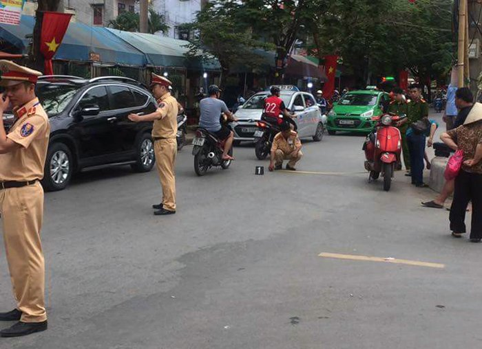 Nu tai xe tuyen bo 'con nguoi khong quan trong': Cong an Hai Phong thong tin chinh thuc hinh anh 1