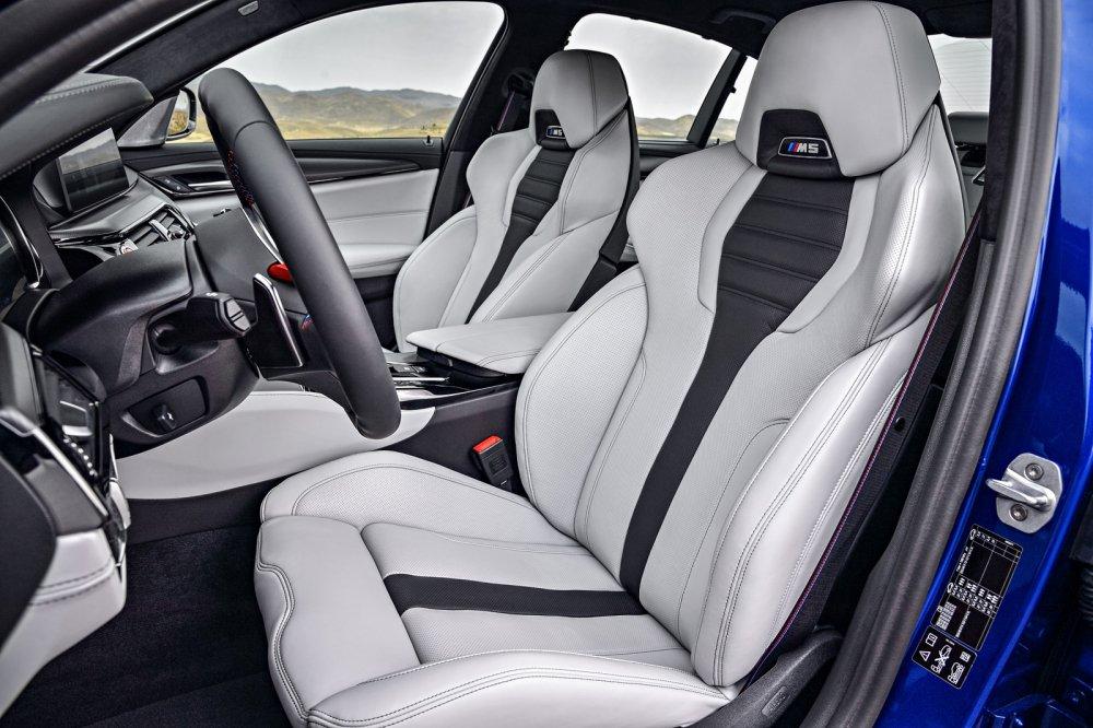 Ra mat BMW M5 nam 2018: Choang vi thoi gian dat toc hinh anh 8
