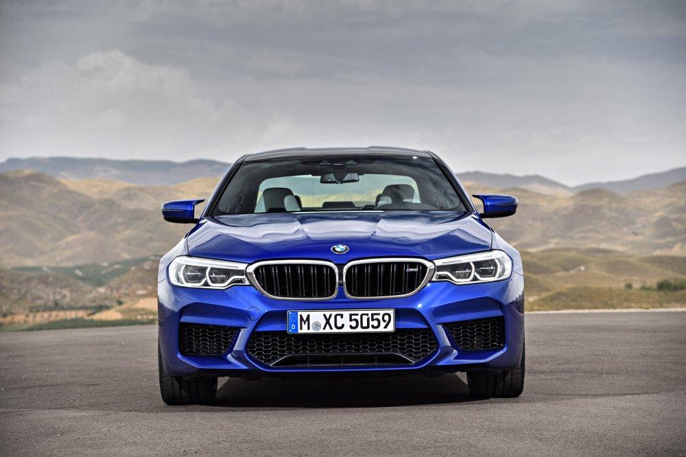 Ra mat BMW M5 nam 2018: Choang vi thoi gian dat toc hinh anh 5