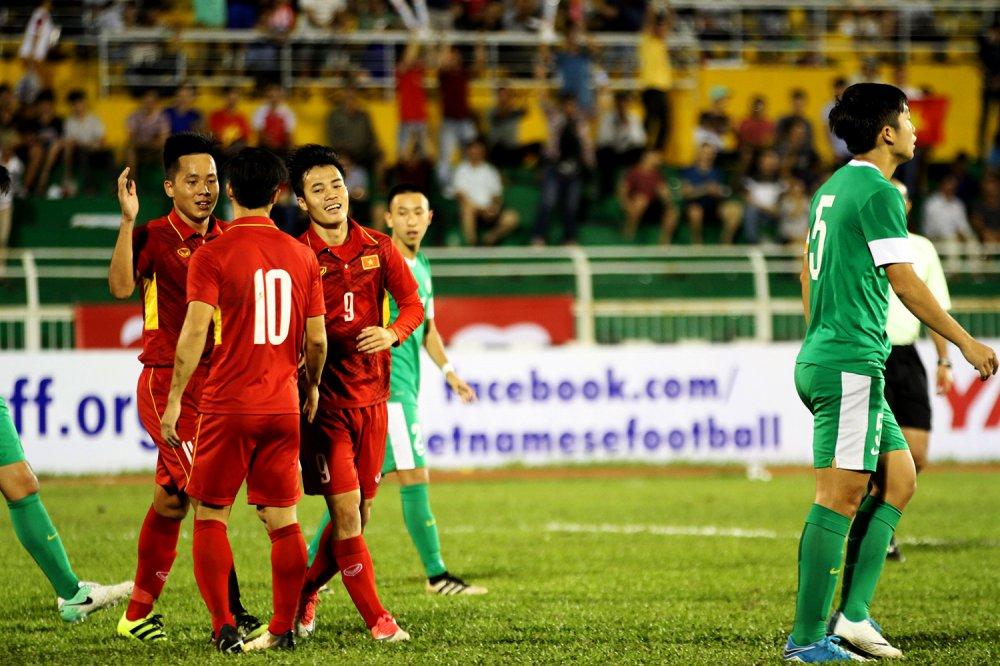 Truc tiep U22 Viet Nam vs U22 Han Quoc vong loai U23 chau A 2018 hinh anh 13