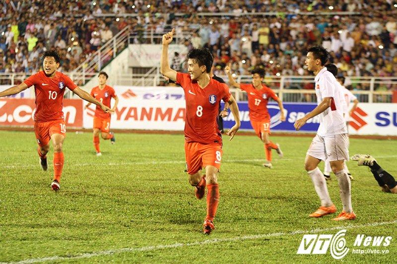 Thua U22 Han Quoc, U22 Viet Nam van gianh ve du vong chung ket U23 chau A hinh anh 1