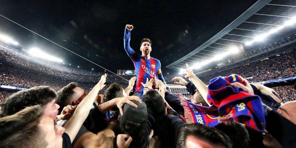 Su that sau buc anh 'Messi day Neymar khoi Barcelona' hinh anh 1