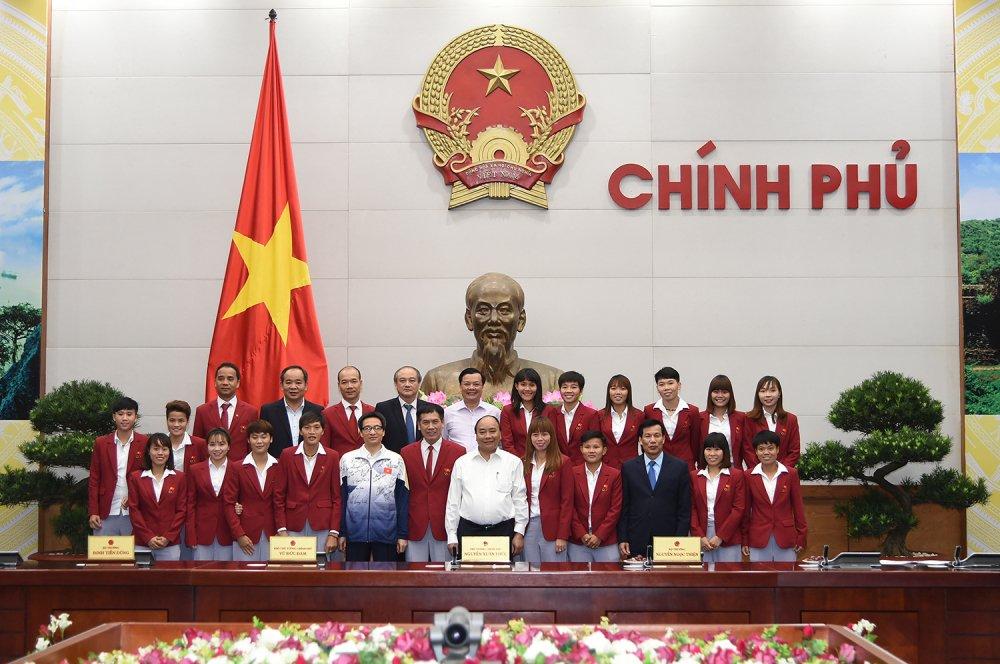 Thu tuong bieu duong Doan the thao Viet Nam gianh hang 3 SEA Games hinh anh 2