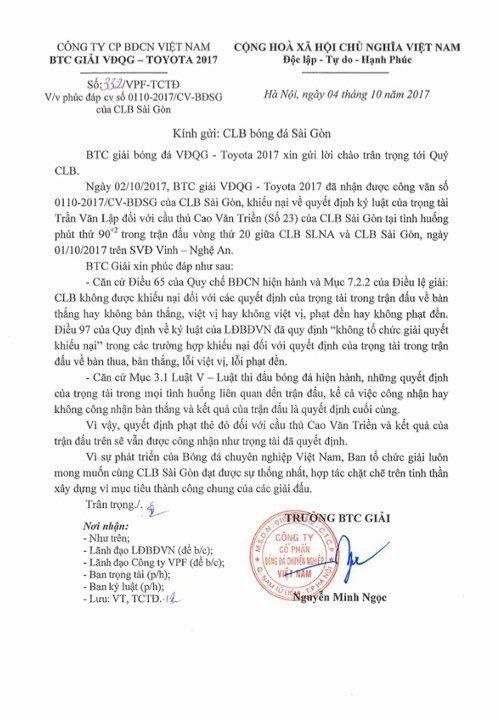 Chu tich Sai Gon FC: 'Toi phai vao vien cap cuu vi buc tuc voi quyet dinh tu BTC V-League' hinh anh 1