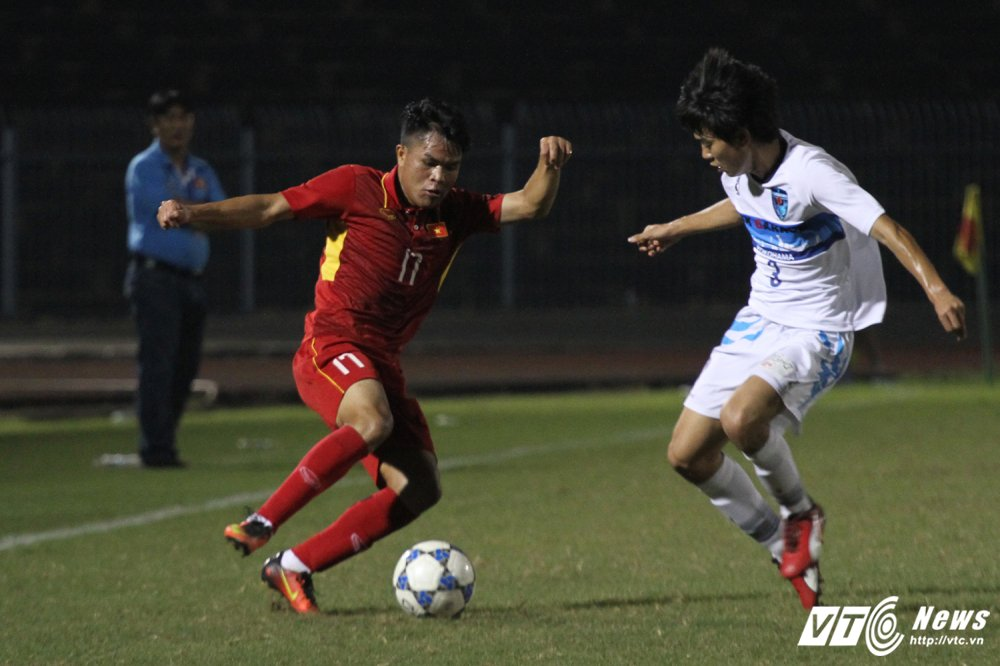 Video truc tiep U19 Viet Nam vs U21 Yokohama - U21 Quoc te 2017 hinh anh 4