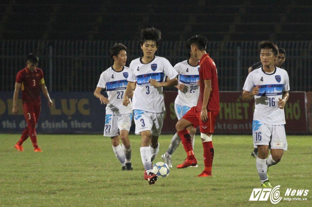 Video truc tiep U19 Viet Nam vs U21 Yokohama - U21 Quoc te 2017 hinh anh 1