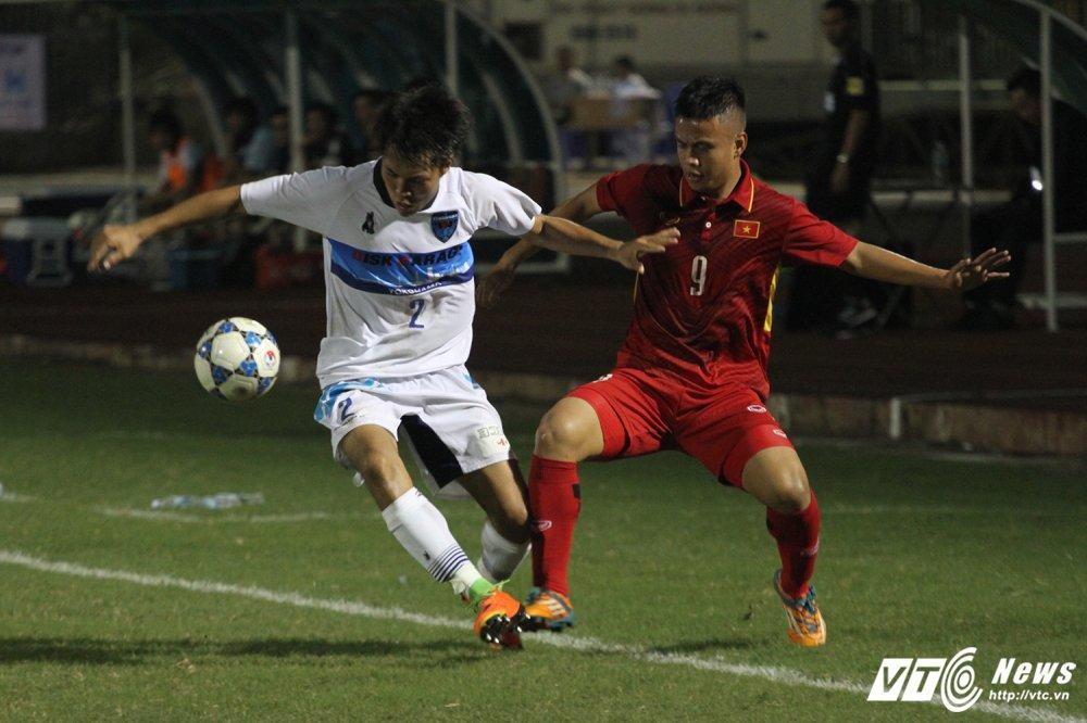 U21 Yokohama qua manh, U19 Viet Nam thua khong cuong duoc hinh anh 1