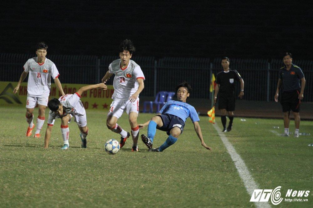Truc tiep U21 Viet Nam vs U21 Yokohama chung ket giai U21 quoc te 2017 hinh anh 7