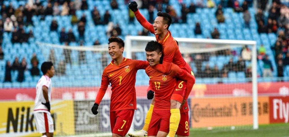 Ket qua U23 Trung Quoc 3-0 U23 Oman bang A VCK U23 chau A hinh anh 1