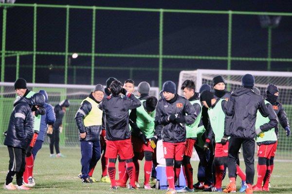 U23 Viet Nam tap duoi cai lanh 0 do, HLV Park Hang Seo co them tro thu hinh anh 3