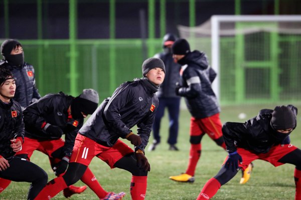 U23 Viet Nam tap duoi cai lanh 0 do, HLV Park Hang Seo co them tro thu hinh anh 2