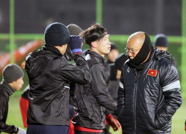 U23 Viet Nam tap duoi cai lanh 0 do, HLV Park Hang Seo co them tro thu hinh anh 1