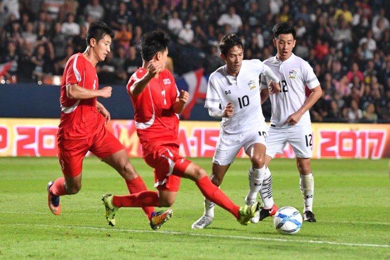 Truc tiep U23 Trieu Tien vs U23 Thai Lan bang B VCK U23 chau A 2018 hinh anh 1