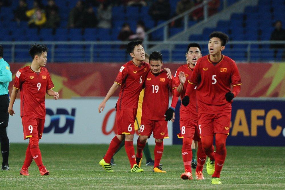 Anh: U23 Viet Nam gianh chien thang chan dong U23 chau A hinh anh 6