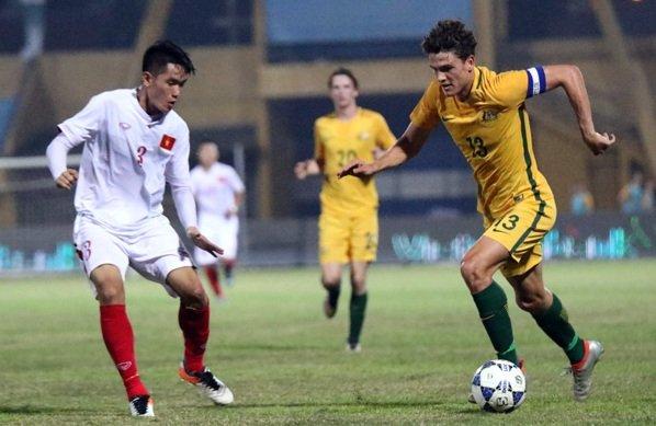 Gap U23 Australia, U23 Viet Nam phai canh giac voi cau thu nay hinh anh 1