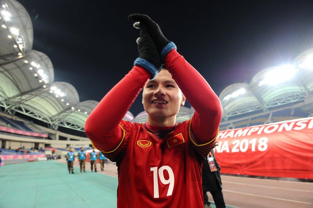 Anh: U23 Viet Nam gianh chien thang chan dong U23 chau A hinh anh 10