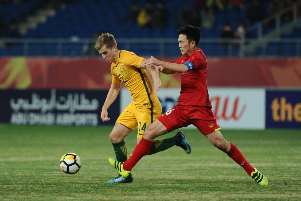 'U23 Viet Nam tam quen tran thang Australia de dau Syria' hinh anh 1