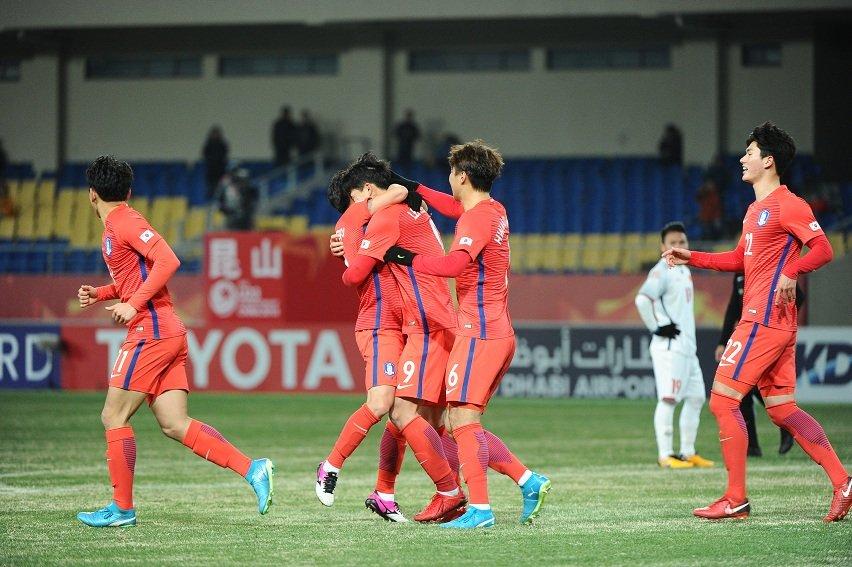 Truc tiep U23 Syria vs U23 Han Quoc bang D VCK U23 chau A hinh anh 1